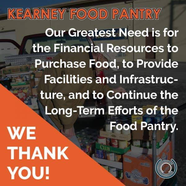 Kearney Food Pantry Donations