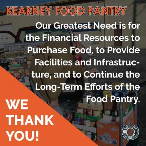 Kearney Food Pantry Donations